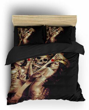 Comforter Cover Skull & Crossbones Skeleton
