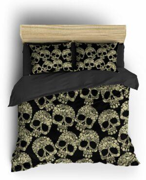 Comforter Cover Skull Calavera