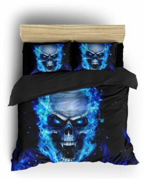 Comforter Cover Demon Skull