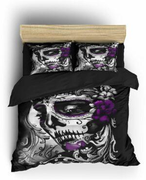 Comforter Cover Santa Muerte