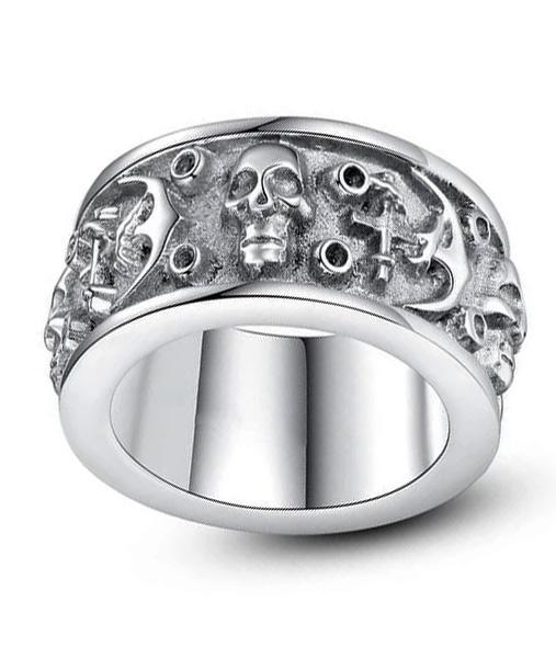 Dark Gothic Ring