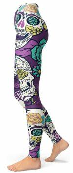 Mexican Skull Legging Calavera