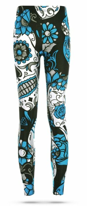 Colorful Mexican Skull Legging