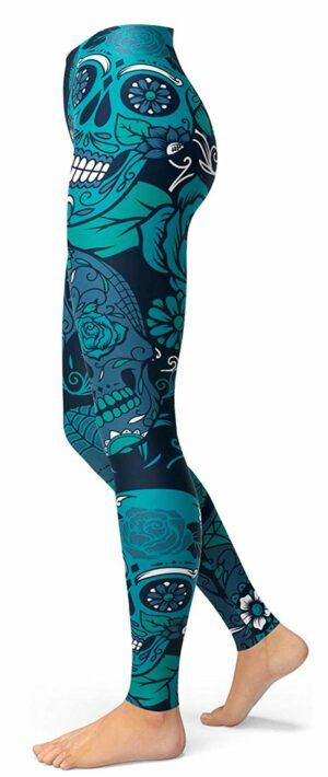 Mexican Skull Legging