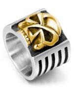 Biker Style Ring