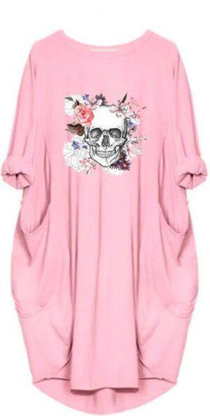 Pink Skull Dress