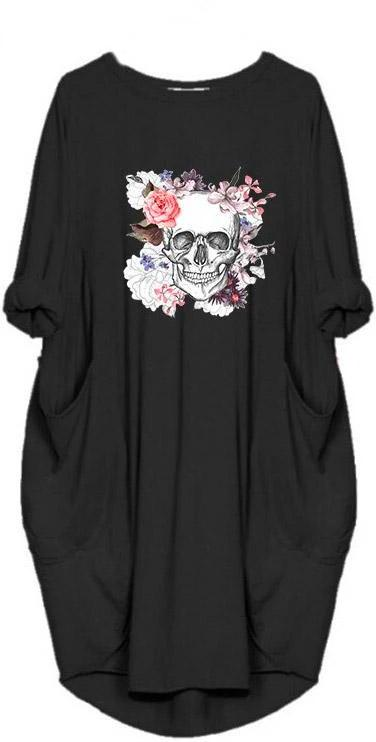 Black Skull Dress