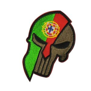 Portugal Skull Patch