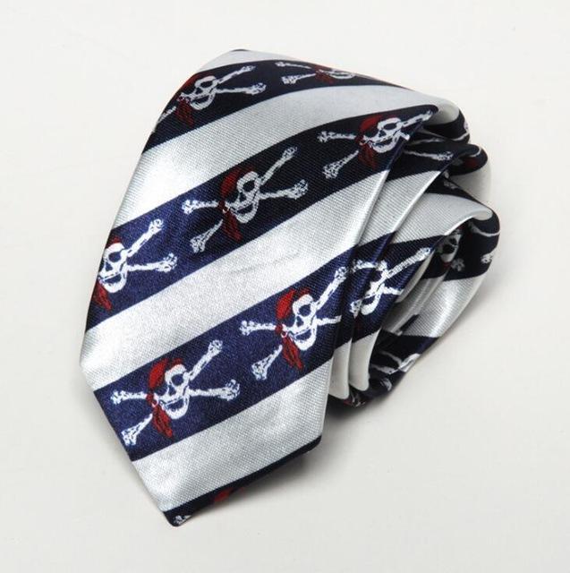 Pirate Flag Skull Tie