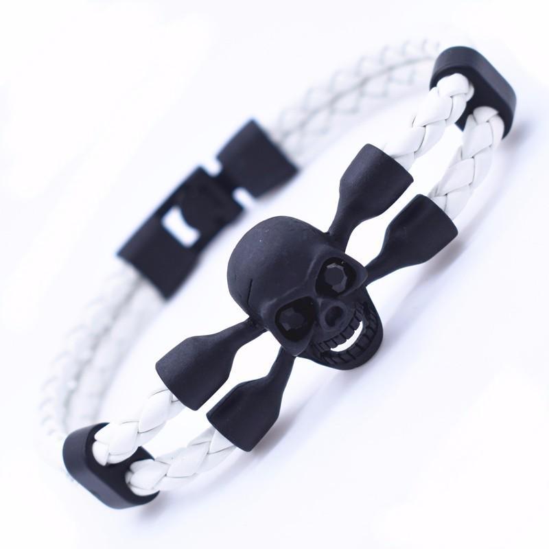 Skull bracelet for men