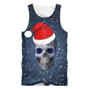 Christmas Skull Tank Top