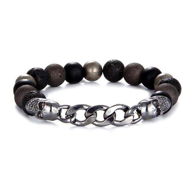 Cubanisto Skull & Crossbones Bracelet