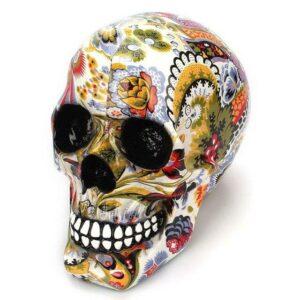 Decorative Skull Flowers