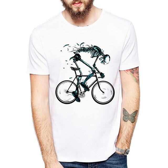 Skull Biker T Shirt