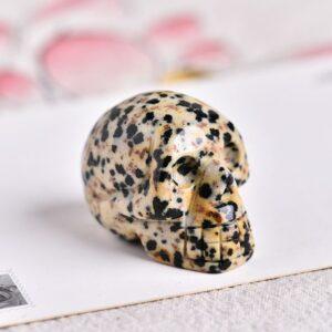skull jasper dalmatian