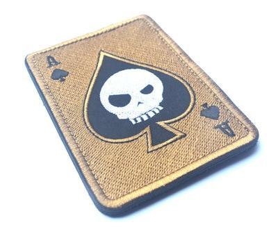Death's Head Poker Patch