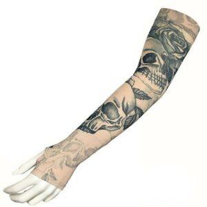 Fake Skull Tattoo Cuff