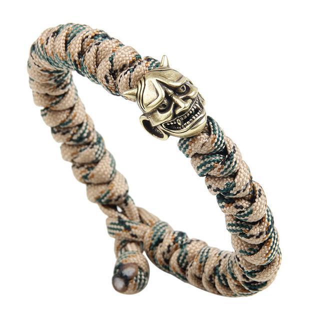 gold demon bracelet