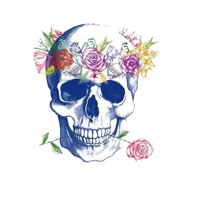 Love skull transfer