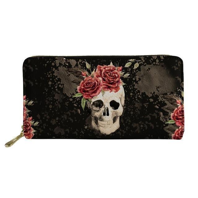 Skull and crossbones wallet