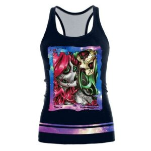 Mexican Party Skull Tank Top