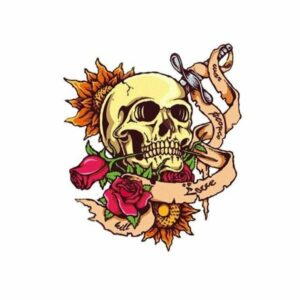 Rock Skull Transfer
