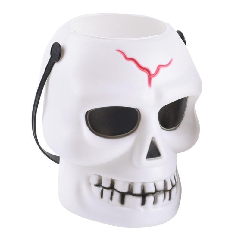 Cracked Skull Lamp