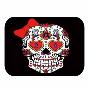 Mexican Skull Rug Colored