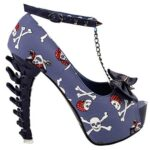 Pirate Skull Court Shoe