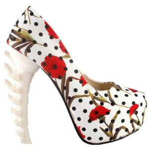 Flowered Shoe