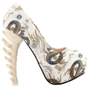 Demonic Dragon Court Shoe