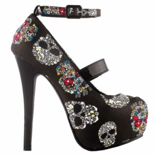 Mexican Skull Shoe