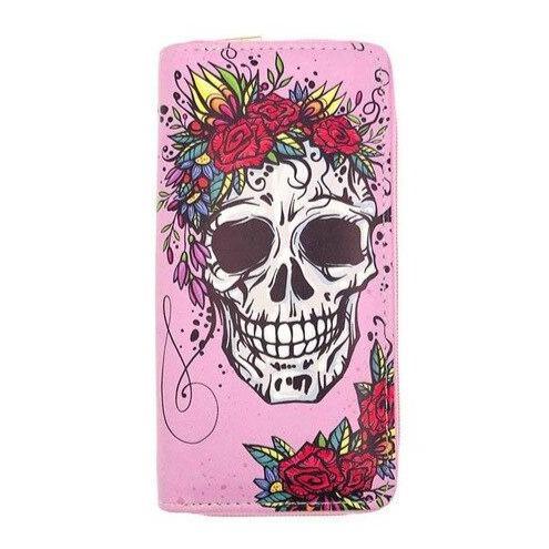 Pink Skull Wallet