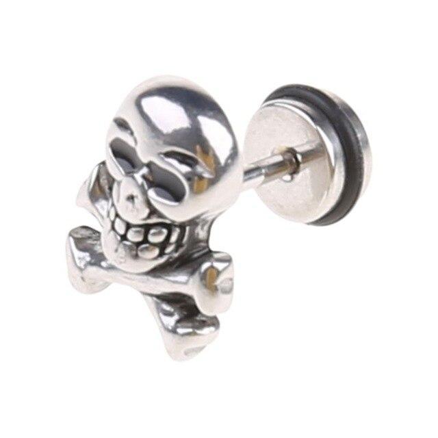 Captain Skull Earrings