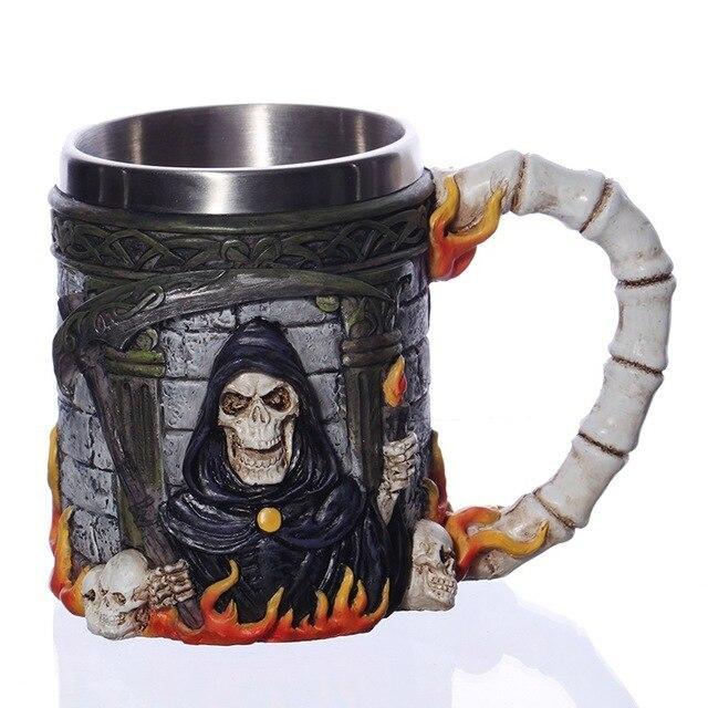 Reaper Skull Mug.