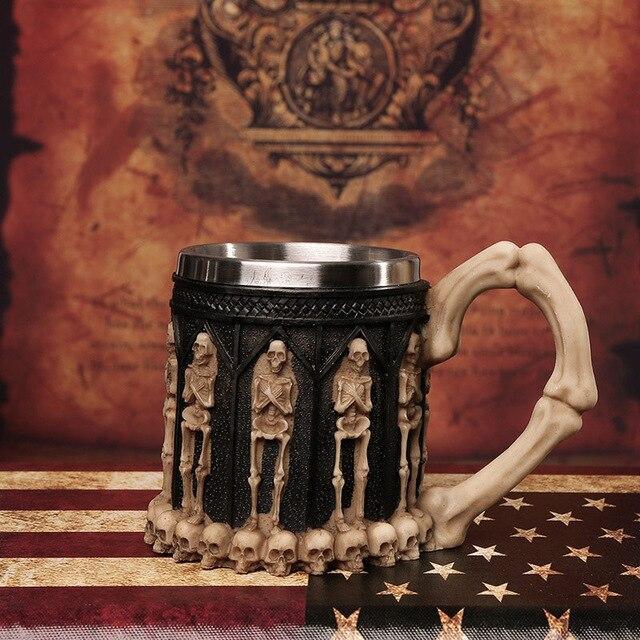 Skeleton Grave Mug.