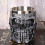 Grey Skull Mug.