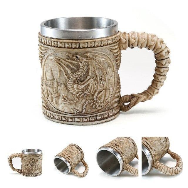 Dragon Fossil Mug.