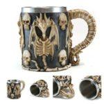 Dragon Skull Mug.