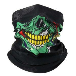 Zombie Skull Neck Cover