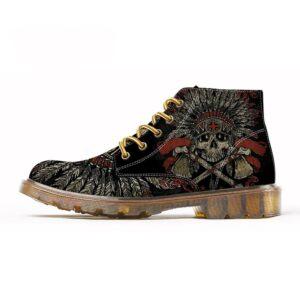 Shoe Skull Native American