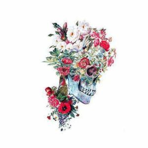 Romantic Skull Transfer