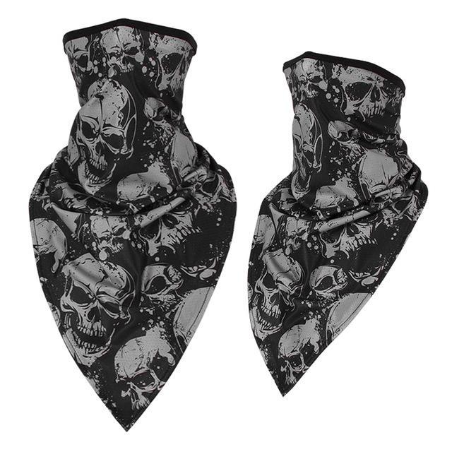 Army skull bandana.