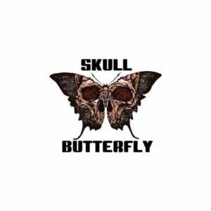 Butterfly Skull Transfer