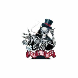 Ace Of Spades Skull Transfer