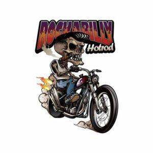 Hard Rock Skull Transfer