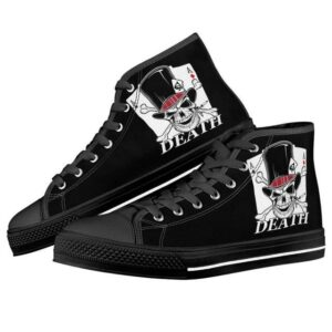 Skull Ace Spades Shoes