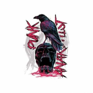 Punk Skull Transfer