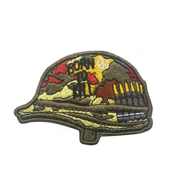 Army Skull Patch