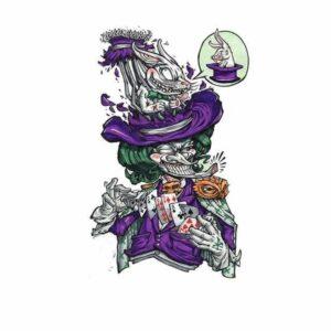 Joker Skull Transfer